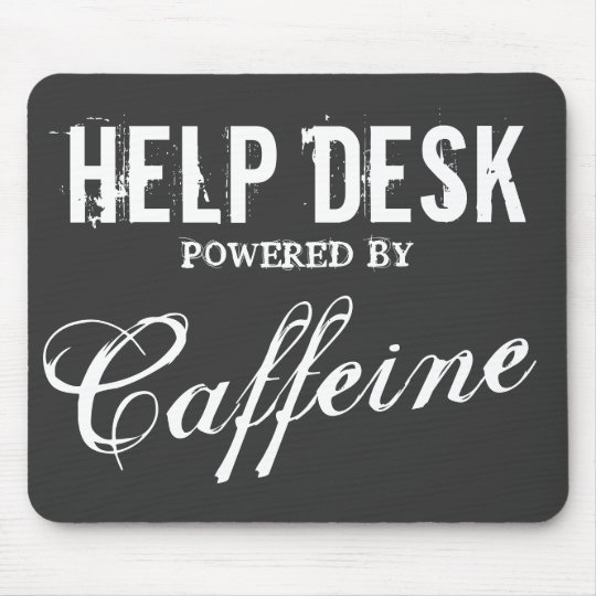 Funny Help Desk Mouse Pad Office Humor Zazzle Com
