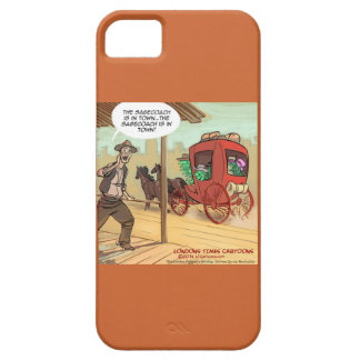 Funny Herbal Sage Coach Is Here iPhone 5/5S Case
