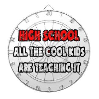 Funny High School Teacher Shirts and Gifts Dart Board