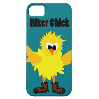 Funny Hiker Chick Cartoon iPhone SE/5/5s Case
