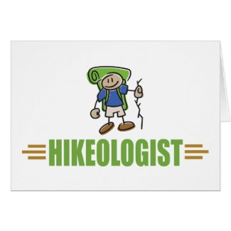 Funny Hiking Card