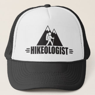 Funny Hiking Trucker Hat