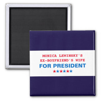 Funny Hillary Clinton Elections 2016 Fridge Magnet