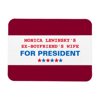 Funny Hillary Clinton for President 2016 Magnet