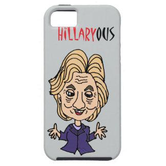 Funny Hillary Clinton Political Cartoon iPhone SE/5/5s Case