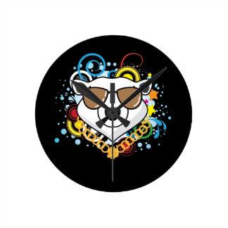 Funny Hip-Hop Polar Bear Picture Clocks