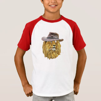 Funny Hipster Lion T-Shirt