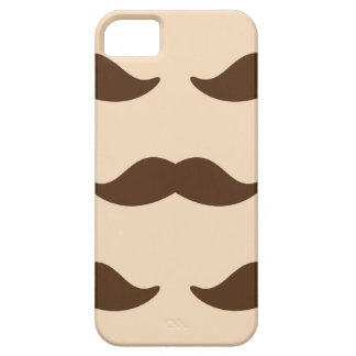 Funny hipster mustache retro mustaches pattern iPhone SE/5/5s case