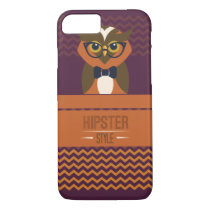 Funny Hipster Style Owl iPhone 8/7 Case