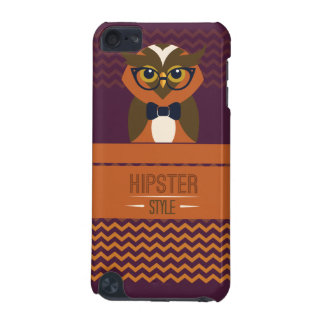 Funny Hipster Style Owl iPod Touch 5G Cover