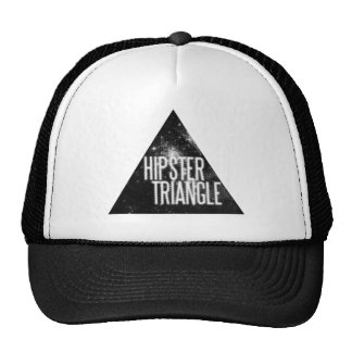 Funny Hipster Triangle Hats