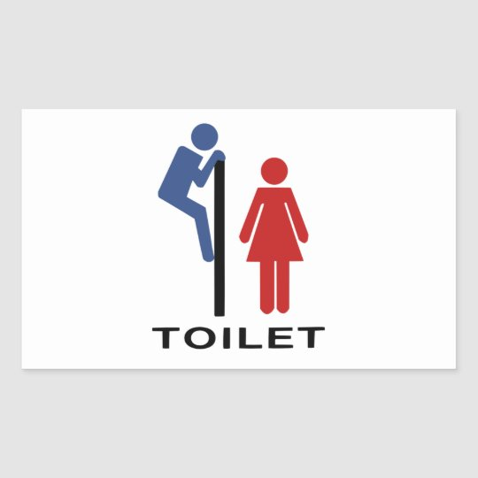 Funny His Hers Toilet Sign Women Restroom Sign
