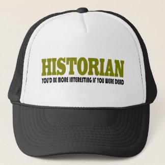 Funny Historian Trucker Hat