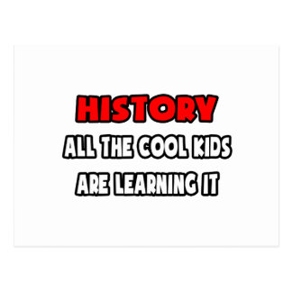 Funny History Teacher Shirts and Gifts Postcard