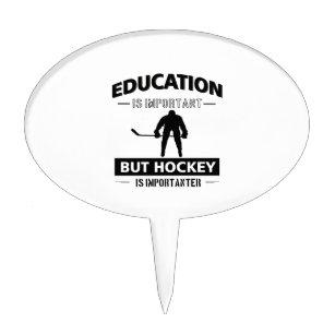 Hockey Goalie Cake Toppers Zazzle