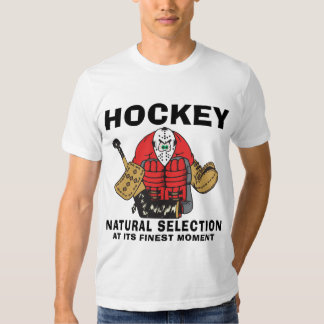 Funny Hockey Goalie T-shirt