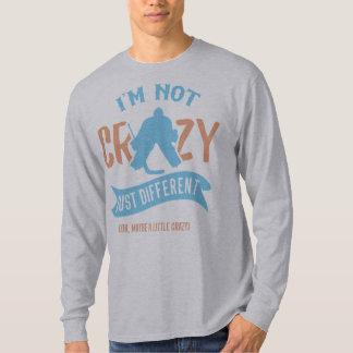 Funny Hockey Goaltender Tee Shirt