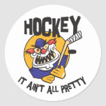 Funny Hockey It Ain't All Pretty Stickers