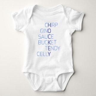 Funny Hockey Slang Words Baby Bodysuit