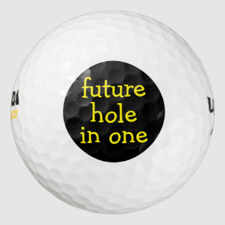 Funny Hole In One Golf Balls