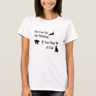 Funny Holiday Cat Women's T-Shirt