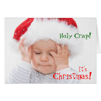 Funny Holiday Greetings Greeting Card