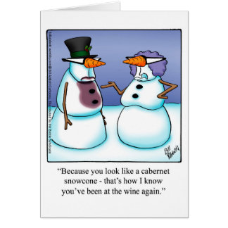 """Funny Holiday Greetings Card """"Spectickles"""""""