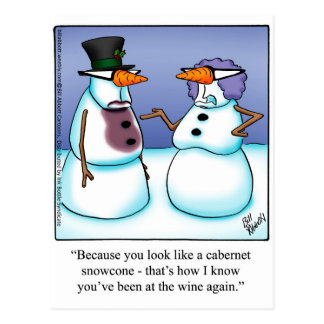 Funny Holiday Postcards