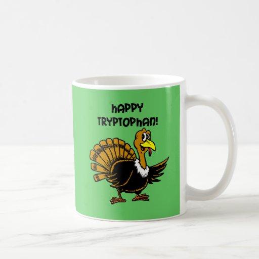 Funny holiday turkey mug