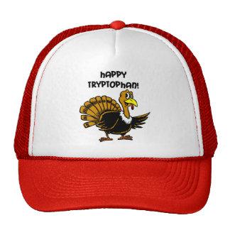 Funny holiday turkey trucker hat