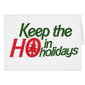 Funny Holidays Ho Greeting Cards