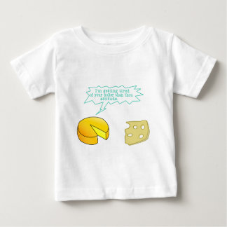 Funny Holier Than Thou Cheese Baby T-Shirt