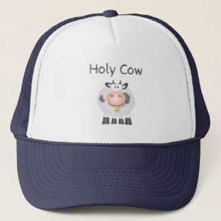 Funny Holy Cow It's Your Birthday Cute Trucker Hat