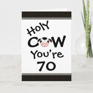 Holy Cow Birthday Cards Zazzle