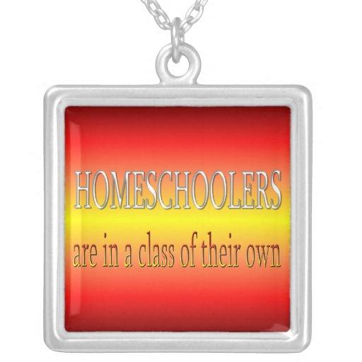 Funny Homeschoolers Necklace