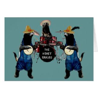 Funny Honey Badger Card