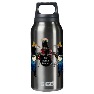 Funny Honey Badger 10 Oz Insulated SIGG Thermos Water Bottle