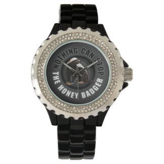 Funny Honey Badger Wristwatch