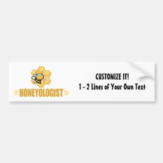 Funny Honey Bee Bumper Sticker