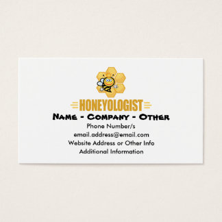 Funny Honey Bee Business Card