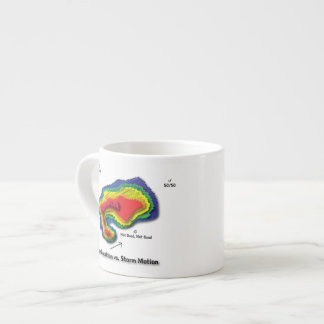 Funny Hook Echo Coffee Mug - Location vs. Storm