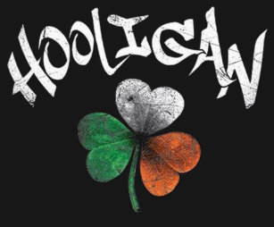 32ec86f88 Funny Hooligan Shamrock St. Patrick's Day Irish T-Shirt