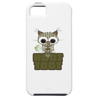 Funny Hoot Toot Cute Farting Owl iPhone 5/5S Cases