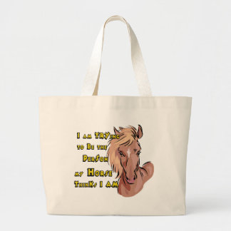 Funny Horse Canvas Bags