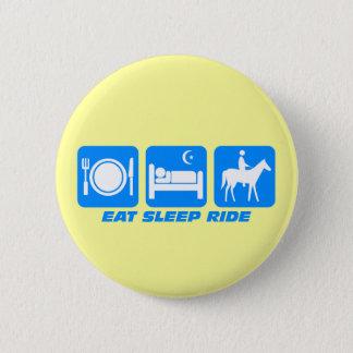 Funny horse button