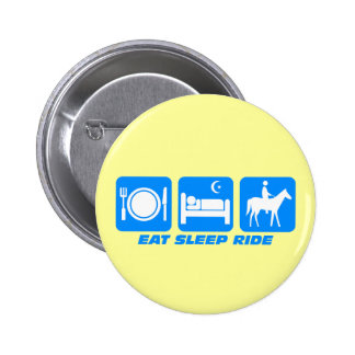 Funny horse pinback buttons