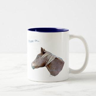 Funny Horse: Dream On Coffee Mugs