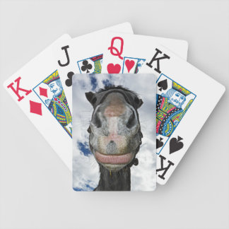 Funny Horse Face - Big Lips Deck Of Cards