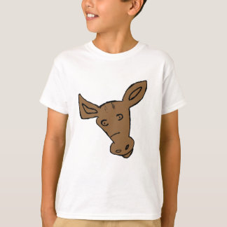 Funny Horse Head T-Shirt