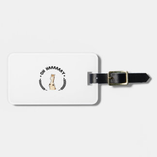 Funny Horse Horse Lover Racing Riding Gifts Bag Tag